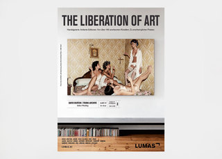 """THE LIBERATION OF ART"" Ads / Lumas / Heimat Berlin"
