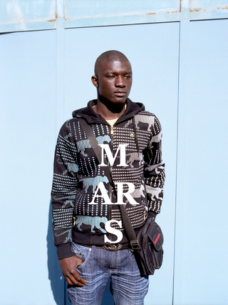 "Abdoulaye from the series ""Mars"""