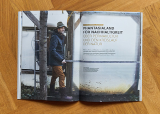 Permaculture Portrait for Character Magazine