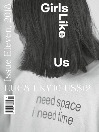 SOME NEW WORK INCLUDED IN THE NEW ISSUE OF GIRLS LIKE US!!!