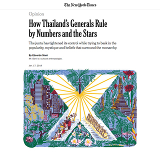 THE NEW YORK TIMES – 2019  Thailand's next king