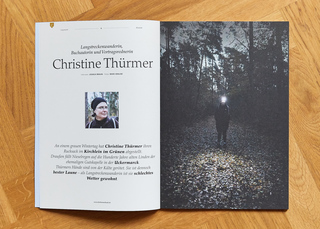 Coverstory for Character Magazine with Christine Thürmer